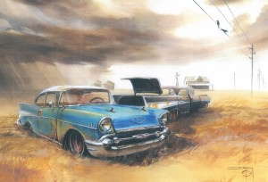 Chevys in a Storm