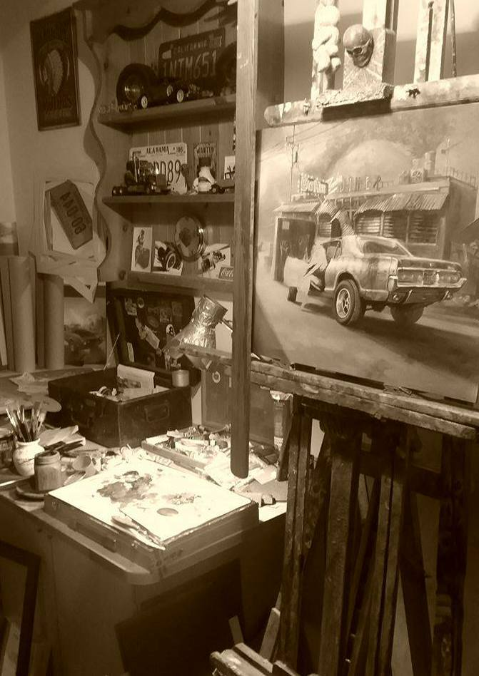 Ian Guy's Studio